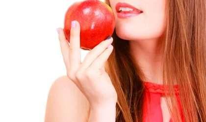 Conoce las propiedades de la manzana roja