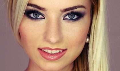 ¿Cómo maquillar ojos redondos?
