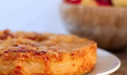 Para que no pierdas tu impulso en la dieta esta deliciosa torta de manzana