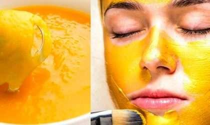 Mascarilla rejuvenecedora de naranja
