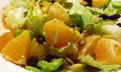 Ensalada de cítricos una explosión de vitamina C