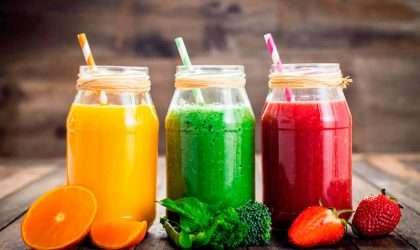 Los 3 mejores jugos del mundo para bajar de peso