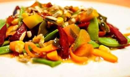 Prepara al instante esta ensalada de verduras al vapor