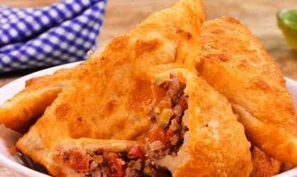 Deliciosas empanadas de carne al curry