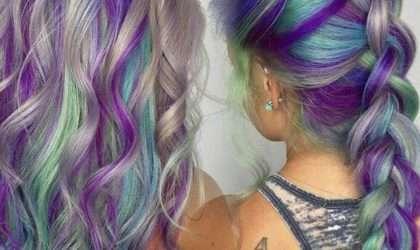 El cabello unicornio la nueva tendencia para mujeres arriesgadas