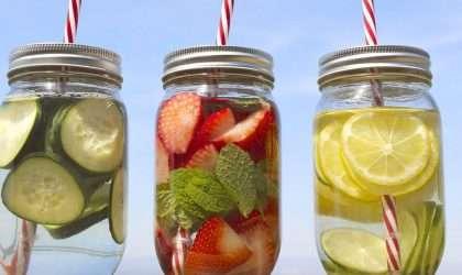 Las 3 mejores aguas desintoxicantes
