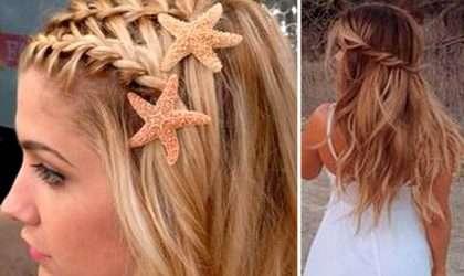 Mira estos peinados para lucir hermosa en la playa
