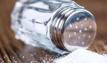 Disminuye el consumo de sal en tu dieta y evita enfermedades cardiacas