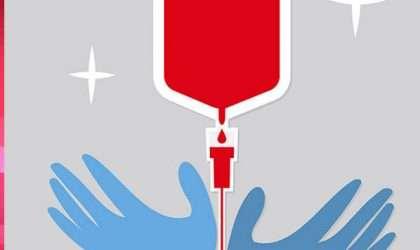 Salva una vida, donando sangre