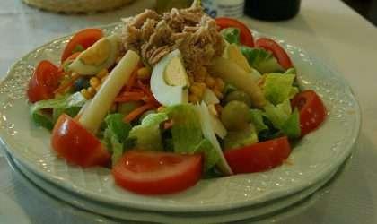 Ensalada de Verduras Calientes Mezcladas