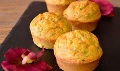 Muffins de coliflor  ¡Bajos en carbohidratos y libres de gluten!