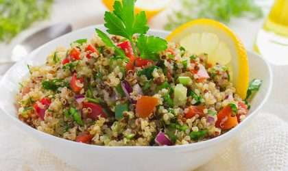 Te enseñamos a preparar la ensalada clásica del medio oriente
