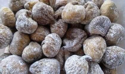 Los higos secos excelente fuente de nutrientes para nuestros huesos