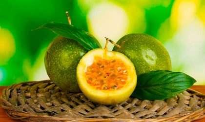 El maracuyá excelente fuente de vitaminas