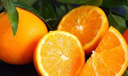 La naranja rica fuente de vitaminas