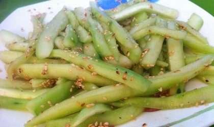 Ensalada picante de pepino chino