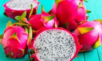 La pitahaya una fruta refrescante