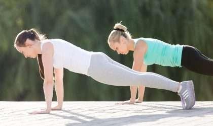 5 maneras de hacer ejercicios plank