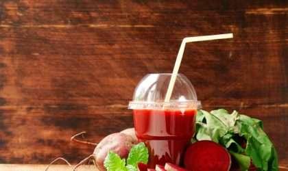 Jugo antioxidante de remolacha y piña