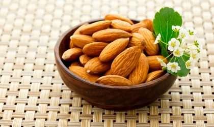 Propiedades de estos frutos secos: Las almendras