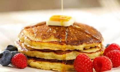 Pancakes de camote la combinación perfecta para un mejor día