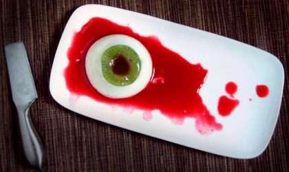 Receta para hallowen: Ojos de queso espeluznantes