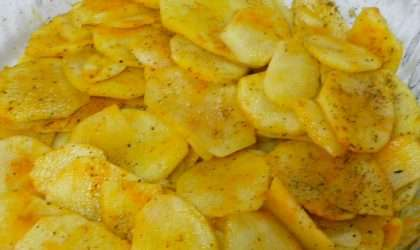 Exquisitas patatas al microondas