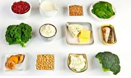 Conoce los mejores alimentos con mayor cantidad de calcio