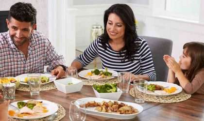 Tips para que tus cenas sean mas ligeras
