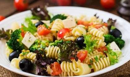Receta para adelgazar: Ensalada de pasta mediterranea
