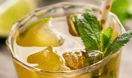 Limonada verde para bajar de peso