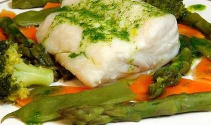 Receta especial: Merluza con verduras