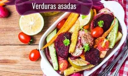 Receta para bajar de peso: Verduras asadas
