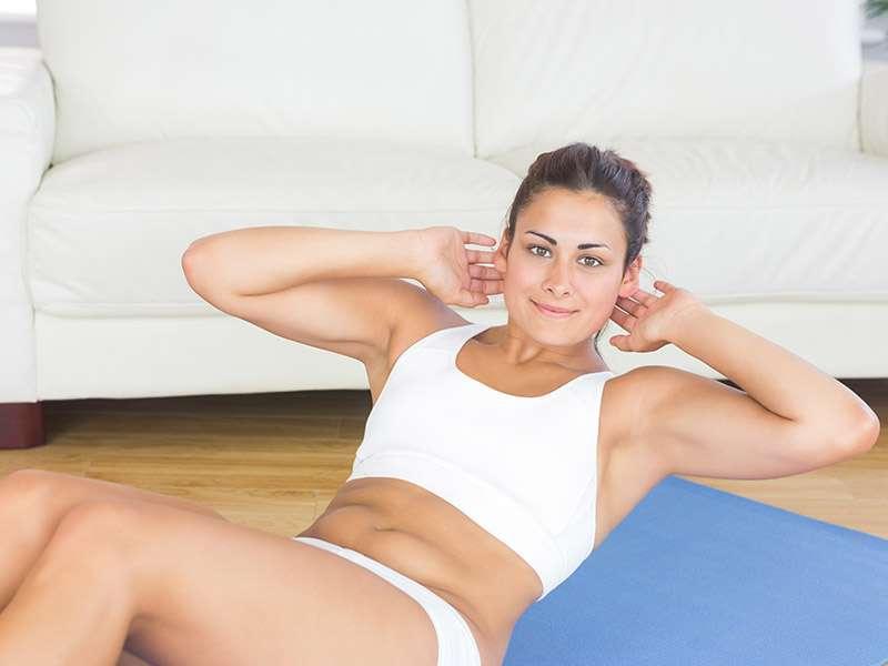 ¿ Cómo lucir un abdomen plano y glúteos grandes?