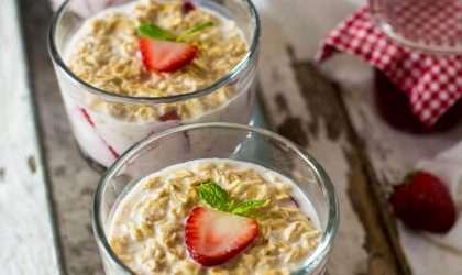 Desayuno bajo en calorías: Avena al jengibre
