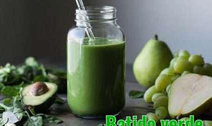 Batido verde ideal para cenar