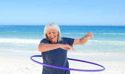 Ejercita tu cuerpo con el hula hula y baja de peso