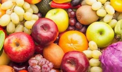 Propiedades de las frutas según su color
