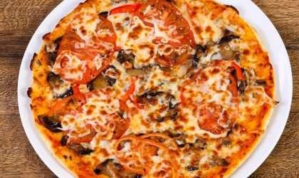 Pizza de calabaza: Menos calorías y carbohídratos
