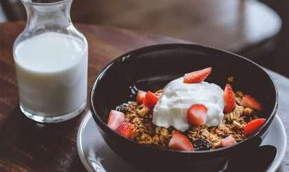 Receta para desayunar: Granola con coco