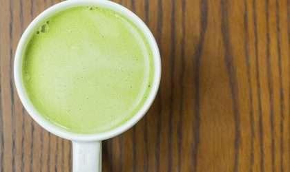 Latte de matcha para perder peso