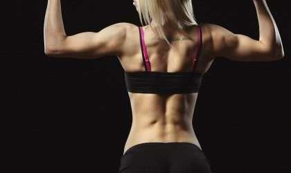 Ejercicios para tonificar tu espalda