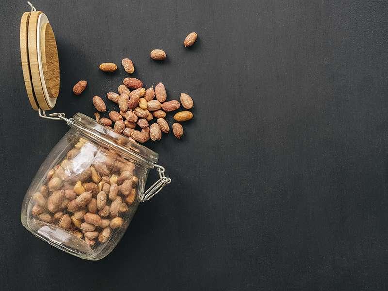 Bote de Nueces y semillas