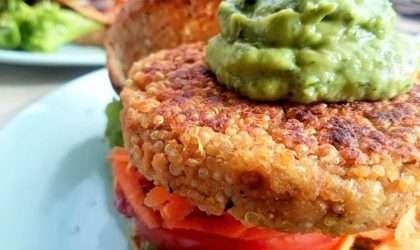 ¿Antojos de hamburguesa en tu dieta?. No sufras más!