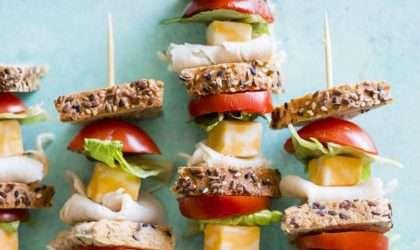 Ahora puedes disfrutar tus sándwichs de pavo en versión pincho