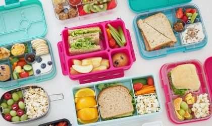 ¡Consejo para padres! Almuerzos y meriendas saludables para llevar al colegio
