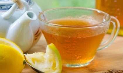 Suprime el apetito con este té de limón en ayunas