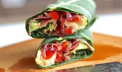Burrito para desayunar