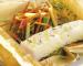 Verduritas con bacalao para tu almuerzo